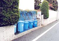 「ゴミ置き場を常にきれいにしておくことが、ゴミを散乱させない最大の策」(中原氏)