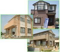 モデルハウスは7棟用意されている。実際の販売でも外観・内装とも7パターンを用意。