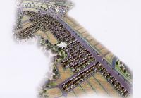 「パレットコート七光台」「パレットコート七光台II」で形成される街並み(予想図)