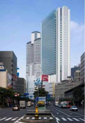 「ブリーゼタワー」外観 (株)サンケイビルは5日、複合高層ビル「ブリー... 複合高層ビル「ブリ