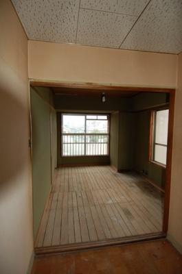 スケルトンリフォーム中の住戸内