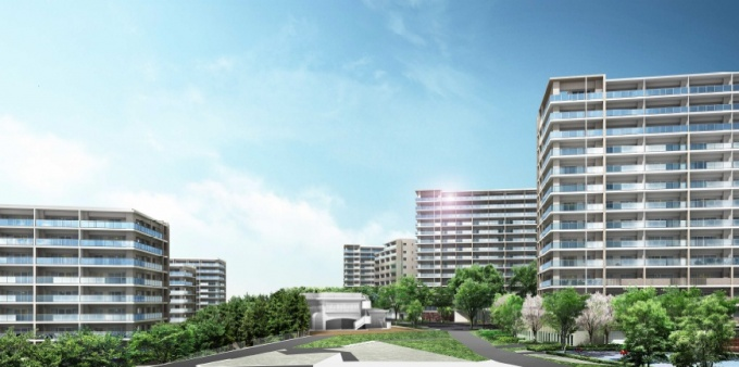 日本最大のマンション建て替えプ...