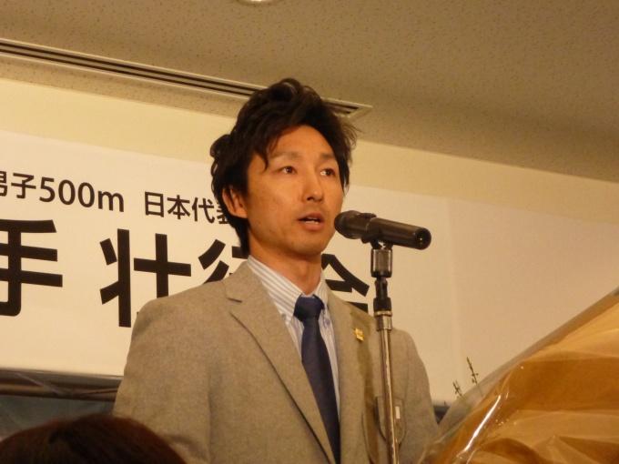 ソチ五輪スピードスケート代表・及川佑選手の壮行会を開催/大和ハウス ...