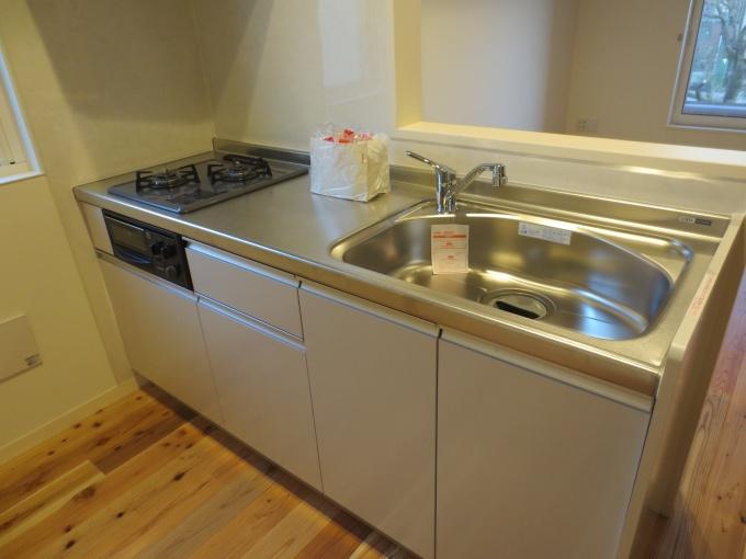 キッチンなどの水回りは、賃貸住宅の水準を超えたスペックのものを用いる