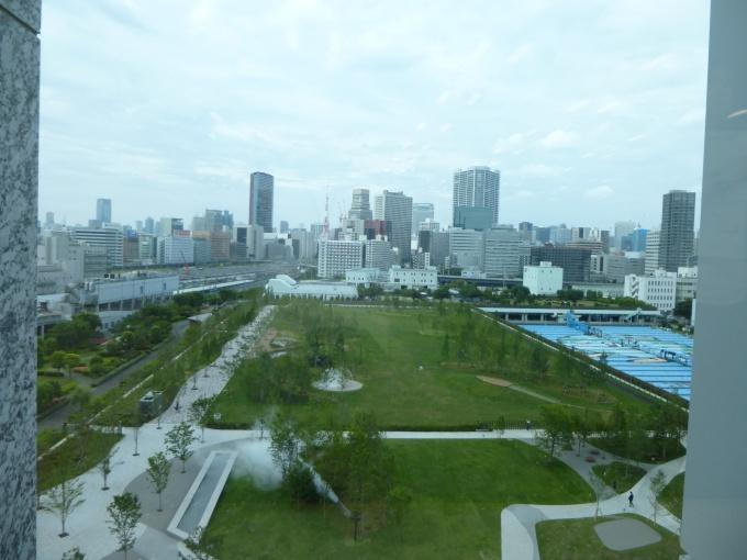 東京都の敷地と合わせ、約3.5haを有する緑地