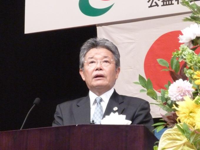 「空き家をビジネスチャンスに活かす方法を探っていきたい」と語る坂本会長