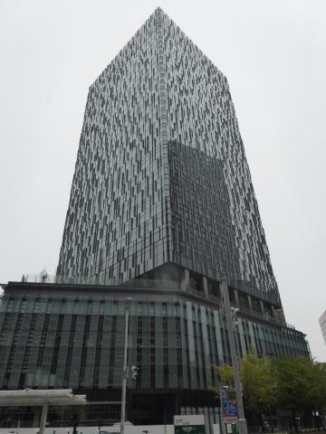 完成した「大名古屋ビルヂング」。名古屋駅前の新ランドマークとして期待が高まる