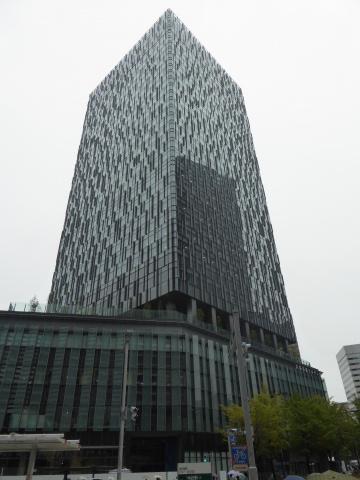 竣工した「大名古屋ビルヂング」。外観デザインは「丘の上に立つ大樹」をイメージしたという