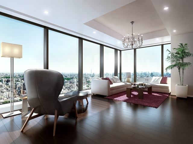 「ラ・トゥール新宿ガーデン」は、総戸数363戸。SOHOやサービスアパートメントも用意し、さまざまなニーズに応える