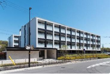 「K-TERRACE 学研奈良登美ヶ丘」外観