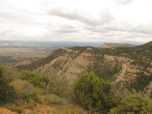 000箇所も遺跡が残っている広大なメサ・ベルデ国立公園
