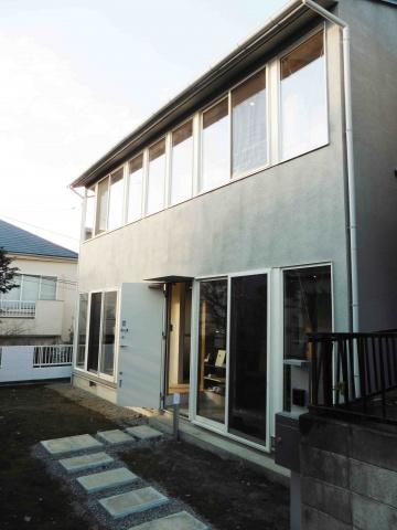 「武蔵小金井の家」外観