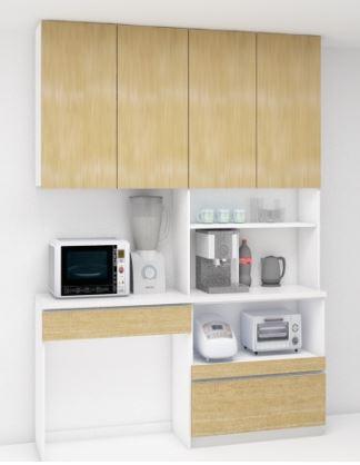 オリジナルキッチン収納のイメージ