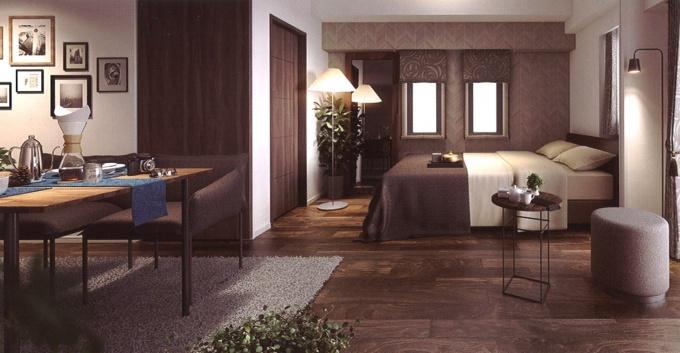 別邸利用のユーザーは「家具ごと欲しい」というニーズも多いため、インテリアコーディネイターによる家具付きプランも選べる