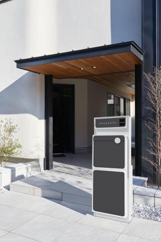 Qual-D(クォール・ディー)宅配ボックス付小壁タイプ