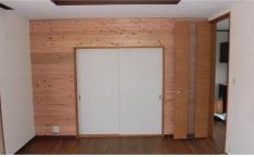 奈良県地域認証材に認定された杉を使用