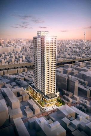 北千住の市街地再開発事業を着工