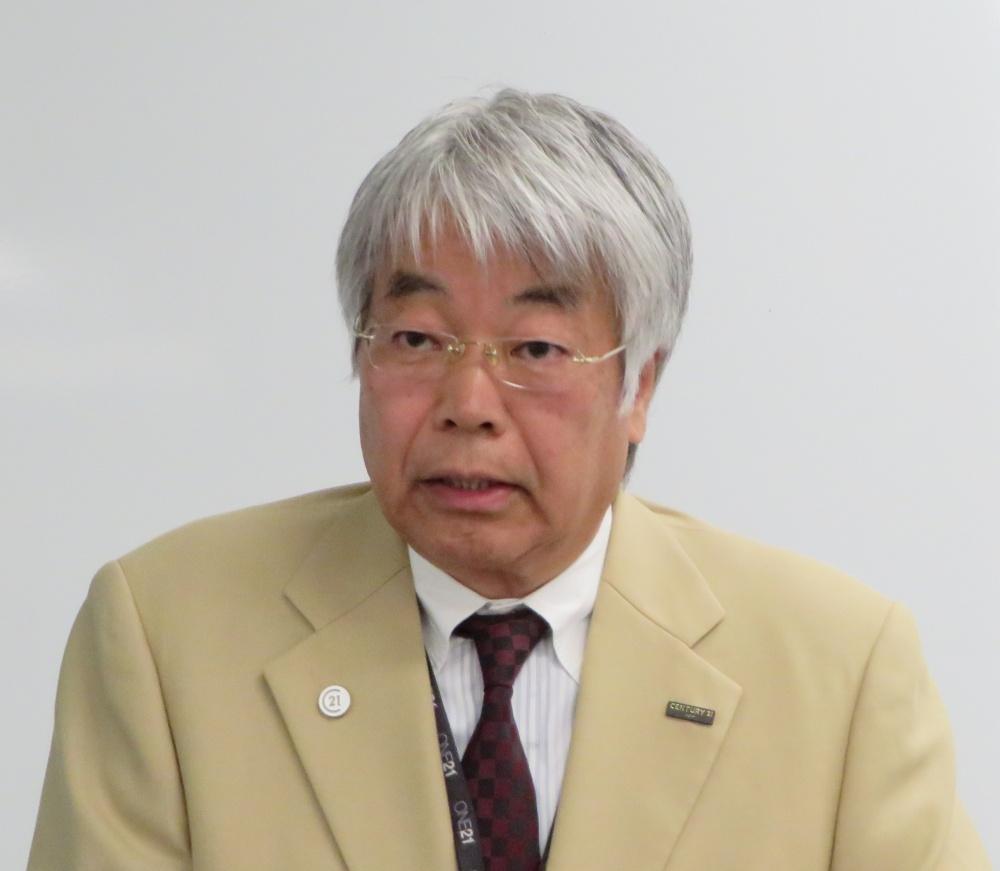 「ストック重視に体質改善することで、まだ成長できる」と語る長田氏