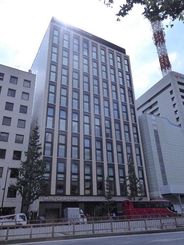 銀座 三井 ガーデン 五 丁目 ホテル
