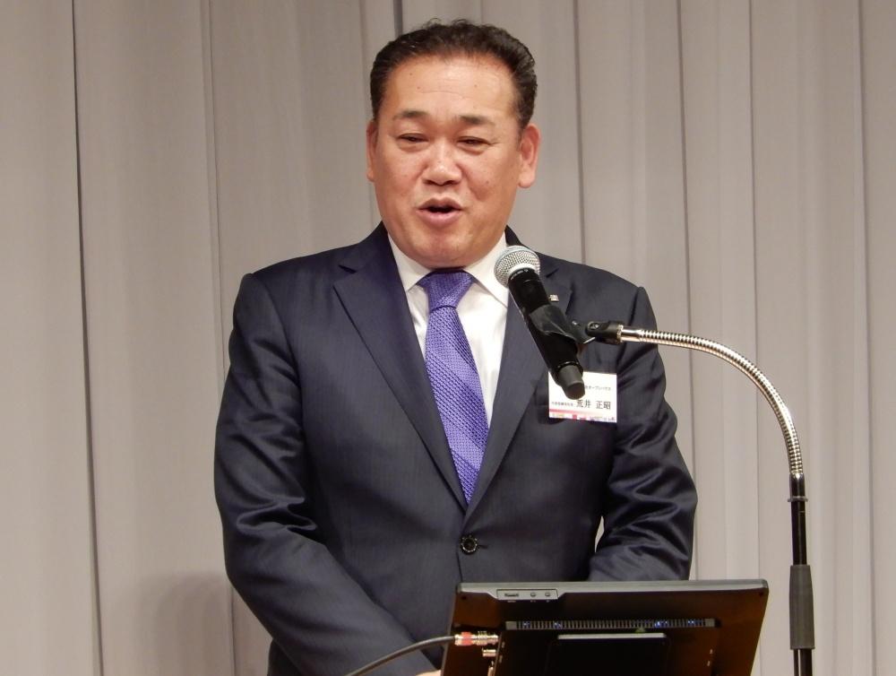 (株)オープンハウスは18日、グランドプリンスホテル新高輪(東京都港区)で感謝の集いを開催。同社の取引先など、参加者は2,000名を超えた。